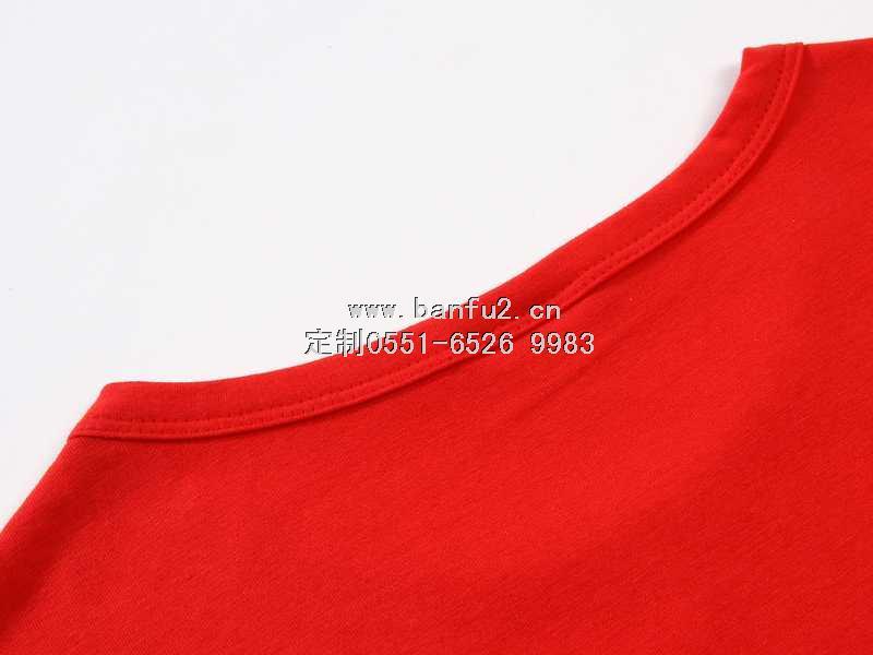 长袖圆领文化衫