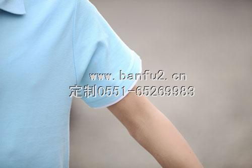 镶边翻领商务T恤