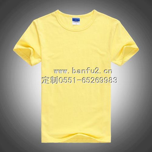 圆领纯色T恤